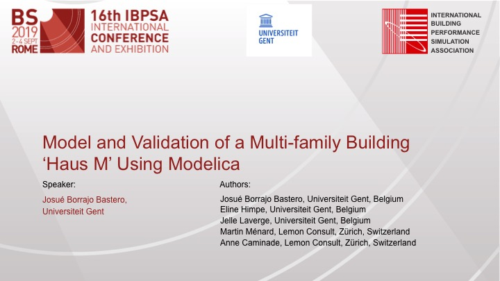 model of HausM using modelica front page